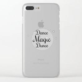 Magic Dance Clear iPhone Case