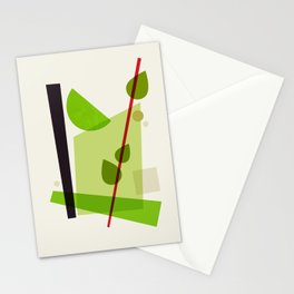 Cocktail V Mojito Stationery Cards