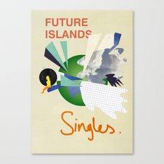 Future Islands - Singles  Canvas Print