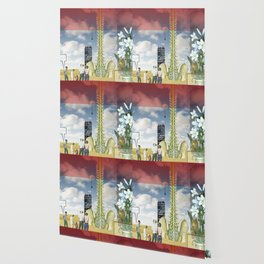 Surreal Landscape Wallpaper Society6