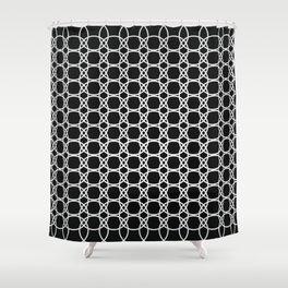 Eloos B&W 2 Shower Curtain
