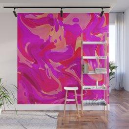 Tulip Tangle Wall Mural