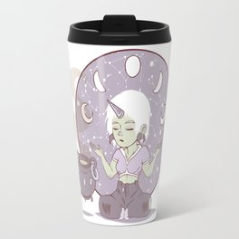 Moon child (purple) Travel Mug