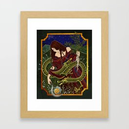 Mandrake Harvest Framed Art Print