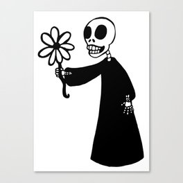 Death's Offering Canvas Print