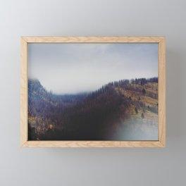 Absaroka Fog Framed Mini Art Print