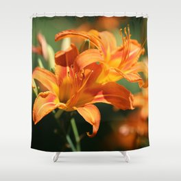 Day Lily Dance Shower Curtain