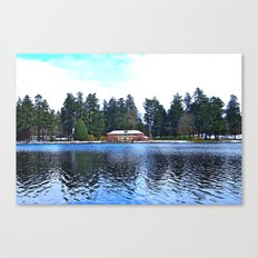 Wapato Lake Winter Canvas Print