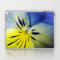 Flower Blue Yellow Laptop & iPad Skin