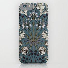William Morris Hyacinth 3 iPhone Case