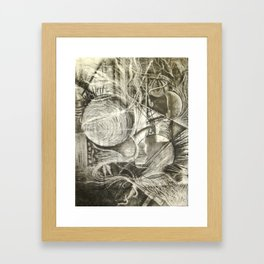 Abstract Parallels Framed Art Print