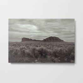 Fort Rock Metal Print