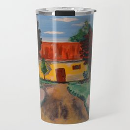 Sicilian Country House Travel Mug