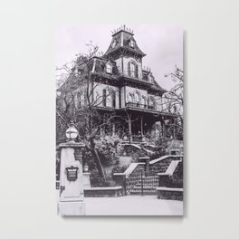 Disneyland Paris, Phantom Manor, France Metal Print