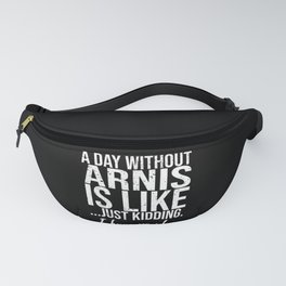 Arnis funny sports gift idea Fanny Pack