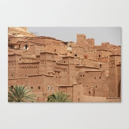 Ait-Ben-Haddou, in Ouarzazate province in Morocco Canvas Print