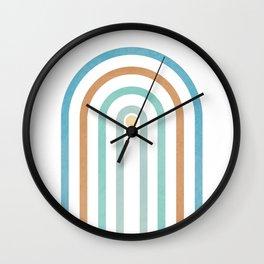Pure Arch Portal 04 - Minimal Geometric Print Wall Clock