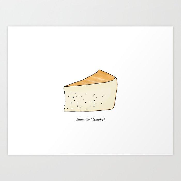 Idiazábal - smoky cheese Art Print