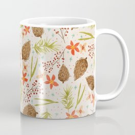 Quiet Walk In The Forest - A Soft And Lovely Pattern Coffee Mug