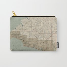 Vintage Map of Panama City FL (1943) Carry-All Pouch
