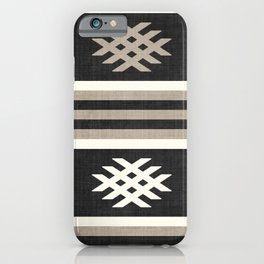 Otto in Black and Tan iPhone Case