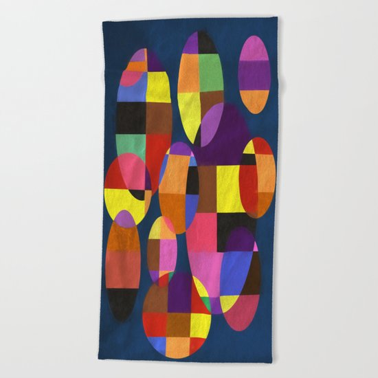 Abstract #372 Beach Towel