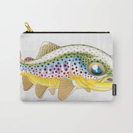 Baby Brown Trout Carry-All Pouch