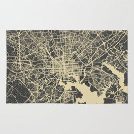 Baltimore map Rug