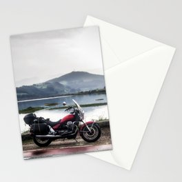 Motorcycle touring Stationery Cards