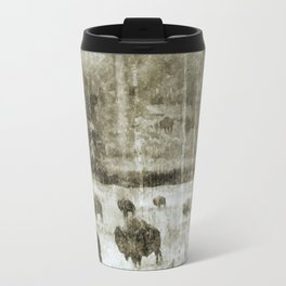 Yellowstone National Park - The Gathering Travel Mug