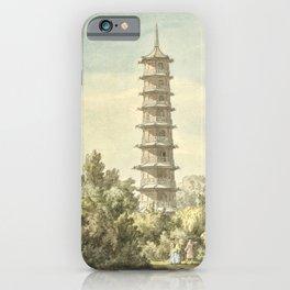 Pagoda at Kew iPhone Case