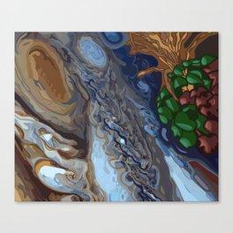 Three Sisters On Jupiter Canvas Print