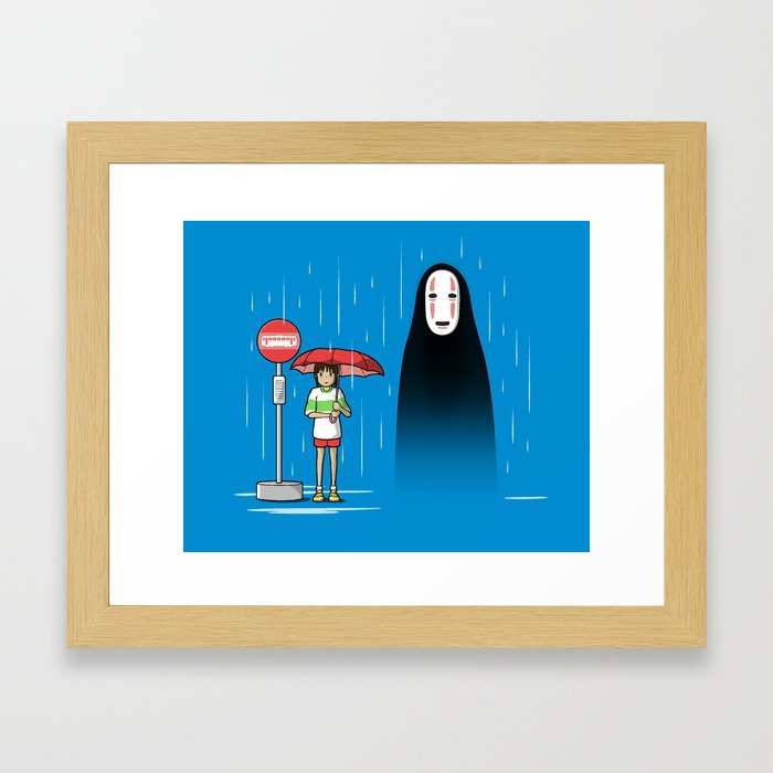 My Lonely Neighbor Framed Art Print