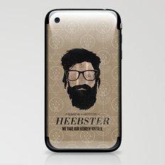 Heebster—We take our Hebrew vintage. iPhone & iPod Skin