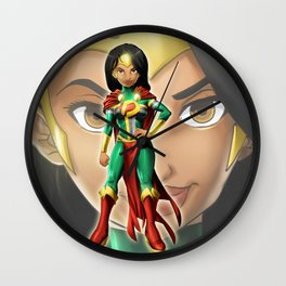 Super Dominica Only Wall Clock
