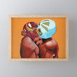 Lucha de Amor Framed Mini Art Print