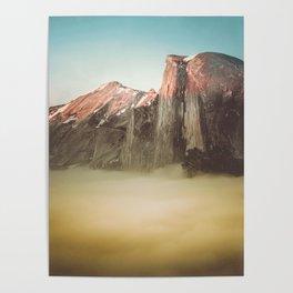 Half Dome Yosemite California Poster