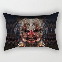 Fuerza Negra Rectangular Pillow