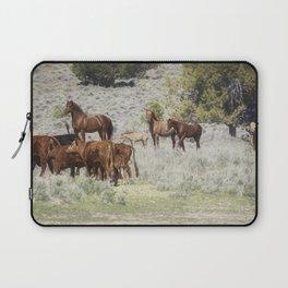 Meeting of the Herds Laptop Sleeve