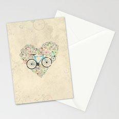I Love My Bike Stationery Cards