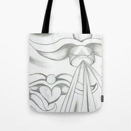Shadow Angel Tote Bag