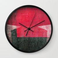 gemini Wall Clocks featuring Gemini by Fernando Vieira