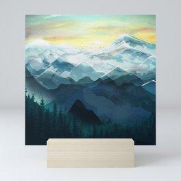 Mountain Range Mini Art Print