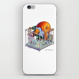 Imp Peach iPhone Skin