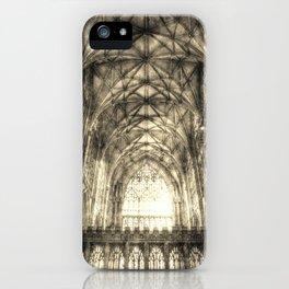 York Minster Vintage iPhone Case