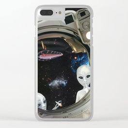 One Small Toke For Man Clear iPhone Case