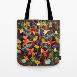 Nature Mandala: July Tote Bag