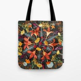 Nature Mandala: July Tote Bag