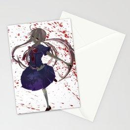 Gasai Yuno Stationery Cards