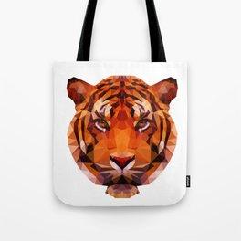 Low Poly Tiger Tote Bag